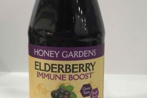 ELDERBERRY IMMUNE BOOST ULTRA POTENT DRINK DIETARY SUPPLEMENT