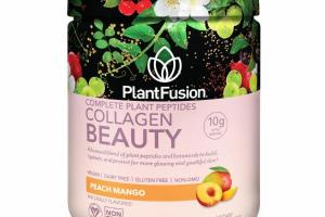 PEACH MANGO COLLAGEN BEAUTY COMPLETE PLANT PEPTIDES DIETARY SUPPLEMENT