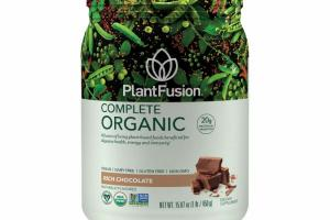 A FUSION OF LIVING PLANT-BASED FOODS BENEFICIAL FOR DIGESTIVE HEALTHY, ENERGY AND IMMUNITY DIETARY SUPPLEMENT, RICH CHOCOLATE