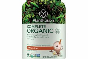 A FUSION OF LIVING PLANT-BASED FOODS BENEFICIAL FOR DIGESTIVE HEALTH, ENERGY AND IMMUNITY DIETARY SUPPLEMENT, VANILLA CHAI
