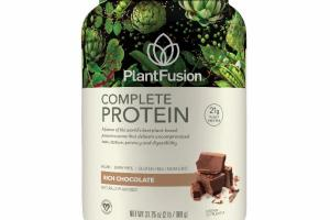A FUSION OF THE WORLD'S BEST PLANT-BASED PROTEIN SOURCES THAT DELIVERS UNCOMPROMISED TASTE, TEXTURE, POTENCY AND DIGESTIBILITY DIETARY SUPPLEMENT, RICH CHOCOLATE
