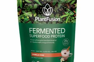 VANILLA CHAI FERMENTED SUPERFOOD PROTEIN DIETARY SUPPLEMENT