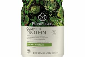 A FUSION OF THE WORLD'S BEST PLANT-BASED PROTEIN SOURCES THAT DELIVERS UNCOMPROMISED TASTE, TEXTURE, POTENCY AND DIGESTIBILITY DIETARY SUPPLEMENT, NATURAL - NO STEVIA