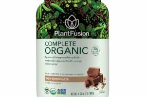 A FUSION OF LIVING PLANT-BASED FOODS BENEFICIAL FOR DIGESTIVE HEALTH, ENERGY AND IMMUNITY DIETARY SUPPLEMENT, RICH CHOCOLATE