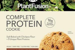 CHEWY CHOCOLATE CHIP COMPLETE PROTEIN COOKIE