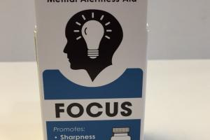 Focus Mental Alertness Aid Homeopathic Chewable Tablets