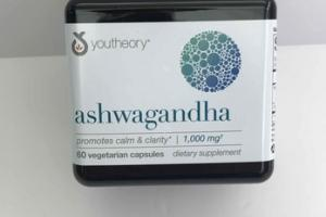 ASHWAGANDHA DIETARY SUPPLEMENT VEGETARIAN CAPSULES