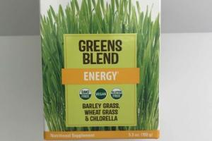 GREEN BLEND POWDERED DRINK MIX NUTRITIONAL SUPPLEMENT