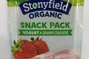 Organic Snack Pack Yogurt & Graham Crackers