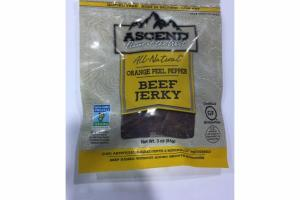 ORANGE PEEL PEPPER BEEF JERKY