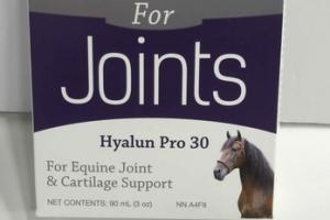 HYALUN PRO 30 FOR EQUINE JOINT & CARTILAGE SUPPORT
