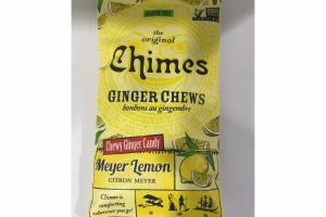 MEYER LEMON CHEWY GINGER CANDY