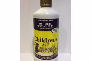 CHILDREN'S ACF RAPID IMMUNE RECOVERY WHOLE FOOD COMPLEX DIETARY SUPPLEMENT