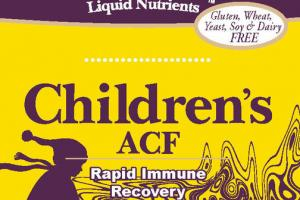 CHILDREN'S ACF IMMUNE SUPPORT DIETARY SUPPLEMENT
