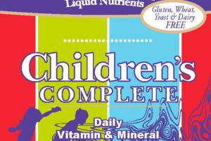 CHILDREN'S COMPLETE DAILY VITAMIN & MINERAL WHOLE FOOD COMPLEX DIETARY SUPPLEMENT
