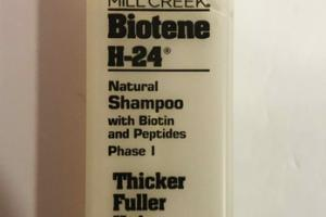 BIOTENE H-24 NATURAL SHAMPOO WITH BIOTIN AND PEPTIDES