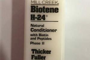 NATURAL CONDITIONER WITH BIOTIN AND PEPTIDES PHASE II