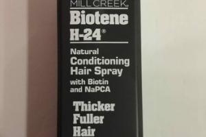 NATURAL CONDITIONING HAIR SPRAY WITH BIOTIN AND NAPCA