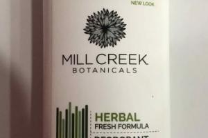 HERBAL FRESH FORMULA DEODORANT, NATURAL FRESH