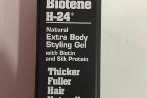 NATURAL EXTRA BODY STYLING GEL WITH BIOTIN AND SILK PROTEIN