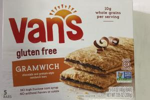 Gramwich Chocolate And Graham-style Sandwich Bars