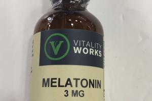 Melatonin 3 Mg Dietary Supplement