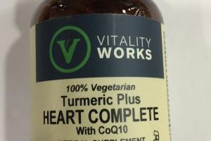 Turmeric Plus Heart Complete With Coq10 Herbal Supplement
