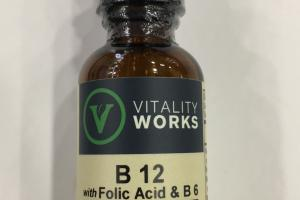 B 12 Fast Absorption Raspberry Dietary Supplement