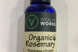 Organic Rosemary 100% Pure Essential Oil