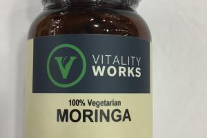 100% Vegetarian Moringa Herbal Supplement