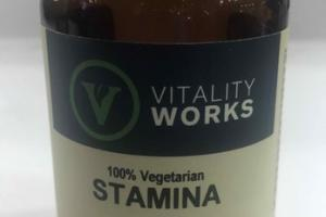 100% VEGETARIAN STAMINA HERBAL SUPPLEMENT VEGGIE CAPS