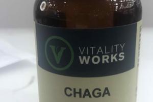 CHAGA HERBAL SUPPLEMENT VEGGIE CAPS