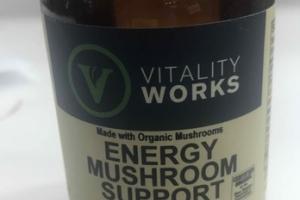 ENERGY MUSHROOM SUPPORT HERBAL SUPPLEMENT VEGGIE CAPS