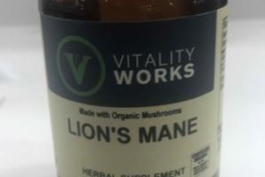 LION'S MANE HERBAL SUPPLEMENT VEGGIE CAPS