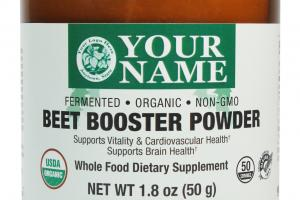 Beet Booster Powder Whole Food Dietary Supplement