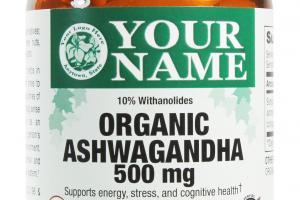 Organic Ashwagandha Dietary Supplement