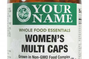 Women's Multi Caps Whole Food Dietary Supplement