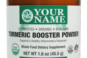 Turmeric Booster Powder Whole Food Dietary Supplement