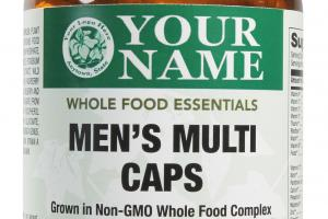 Men's Multi Caps Whole Food Dietary Supplement