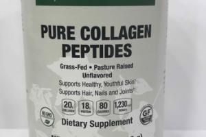 PURE COLLAGEN PEPTIDES DIETARY SUPPLEMENT
