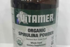 ORGANIC SPIRULINA POWDER WHOLE FOOD DIETARY SUPPLEMENT