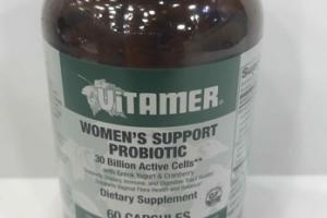 WOMEN'S SUPPORT PROBIOTIC DIETARY SUPPLEMENT CAPSULES