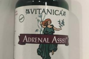 ADRENAL ASSIST SUPPORT DIETARY SUPPLEMENT VEGETARIAN CAPSULES