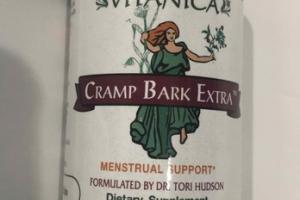 CRAMP BARK EXTRA MENSTRUAL SUPPORT DIETARY SUPPLEMENT VEGETARIAN CAPSULES