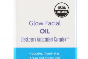 BLACKBERRY ANTIOXIDANT COMPLEX GLOW FACIAL OIL, ARGAN AND BORAGE OILS