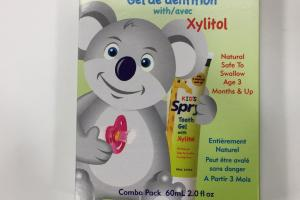 Kid's Tooth Gel With Xylitol