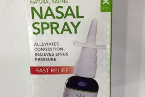 Natural Saline Nasal Spray