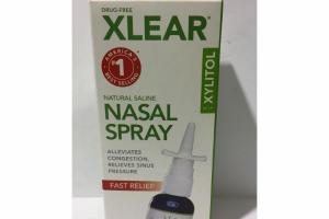 FAST RELIEF NATURAL SALINE NASAL SPRAY WITH XYLITOL