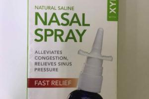 NATURAL SALINE NASAL SPRAY WITH XYLITOL
