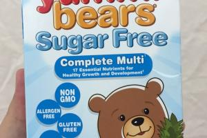 Yummi Bears Sugar Free Dietary Supplement